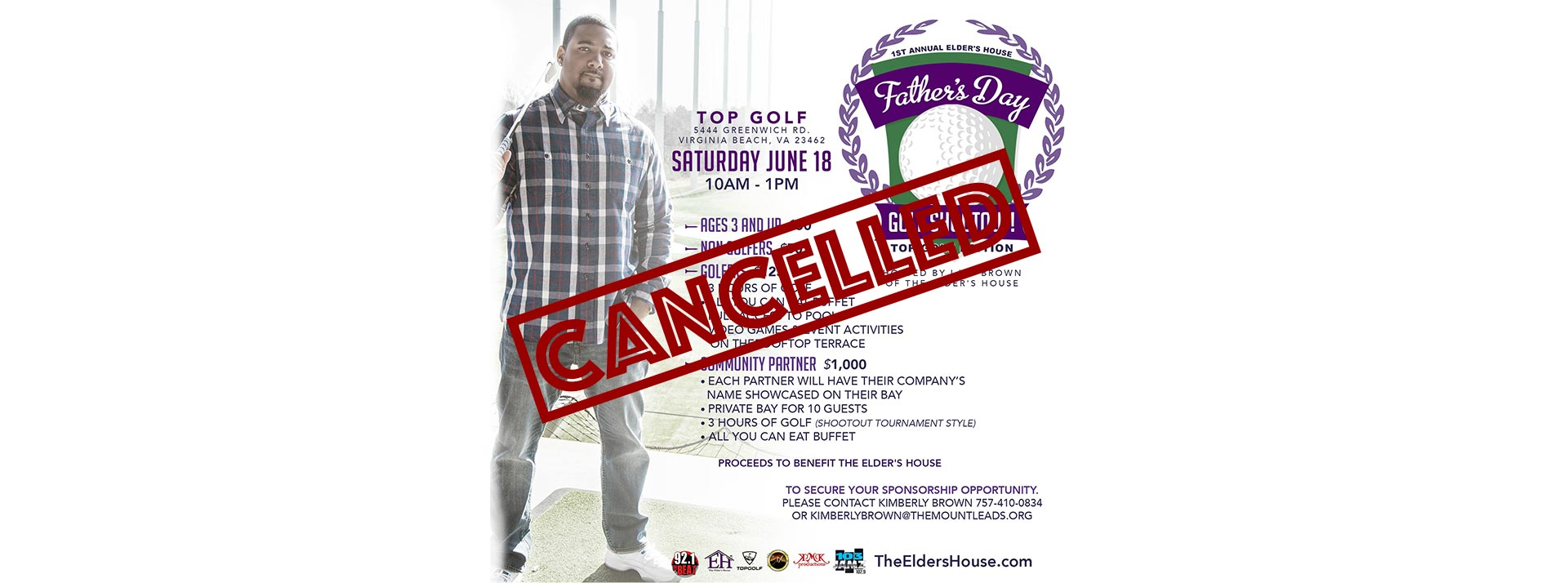 Cancelled: Father's Day Golf Shootout